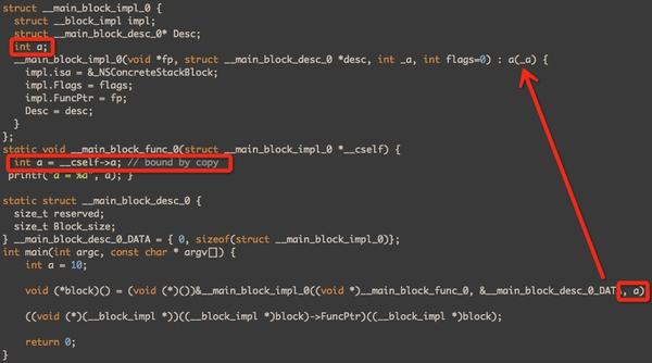 iOS-Block与函数指针有什么区别