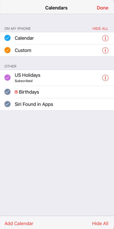 iOS开发之EventKit框架的应用