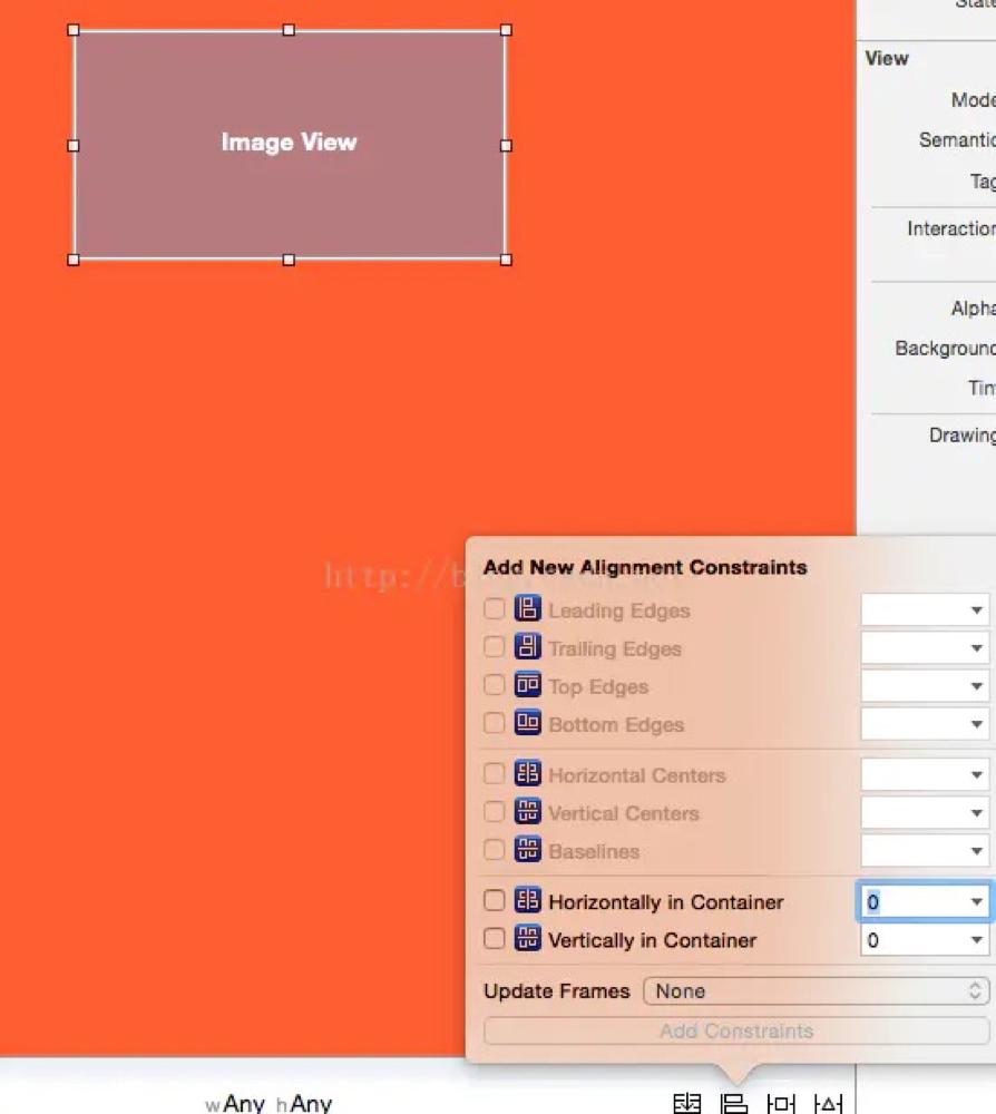 iOS – XIB之AutoLayout添加约束