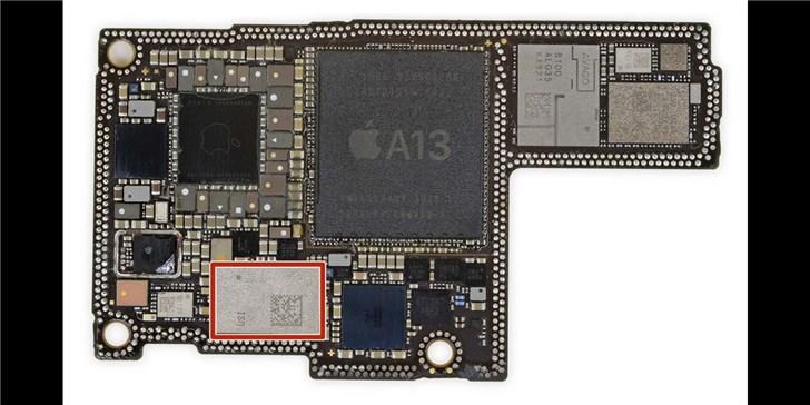 苹果iPhone 11中的U1芯片是苹果自己设计的,但与其他设备兼容
