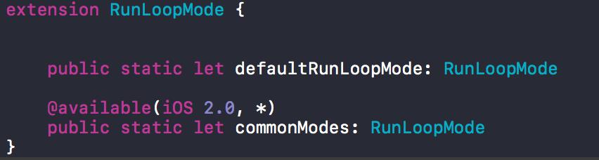 Runloop和Runtime的简单介绍