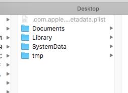 iOS 数据持久化的方式
