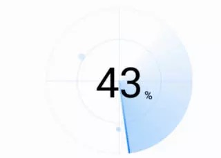 Android自定义View 雷达扫描效果