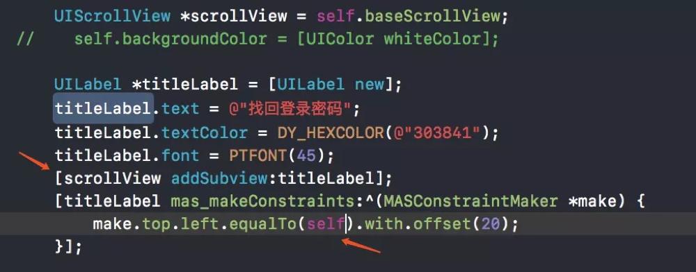 iOS的scrollview的不能滚动问题