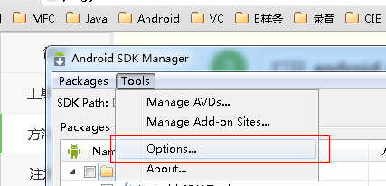 android sdk无法更新的解决方法
