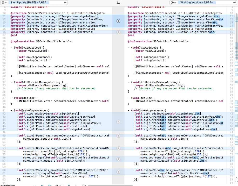 iOS使用shell脚本批量修改属性