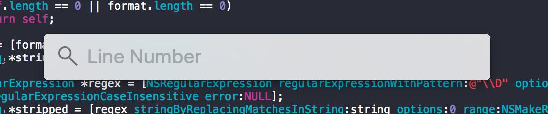 定位代码行数位置