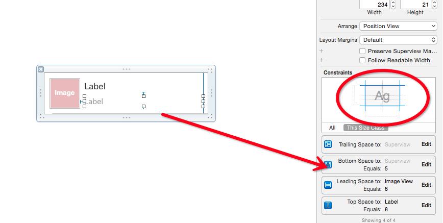 iOS UITableViewCell根据内容显示不同的高度问题