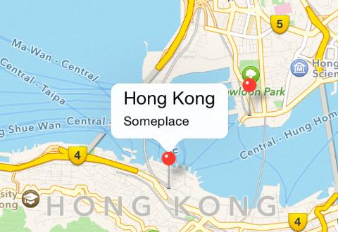 iOS地图框架MapKit的简单使用
