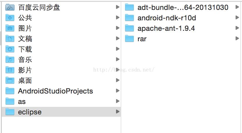 mac下配置android开发环境