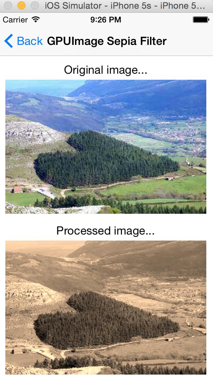 iOS开发使用GPUImage实现的简单滤镜效果