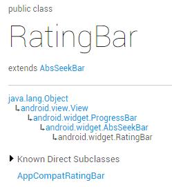 Android之RatingBar(星级评分条)和ScrollView(滚动条)