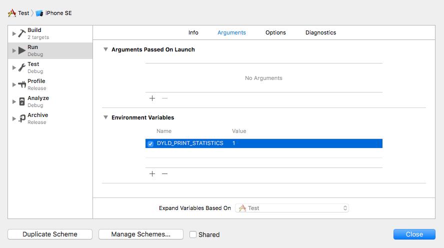 iOS App启动性能优化