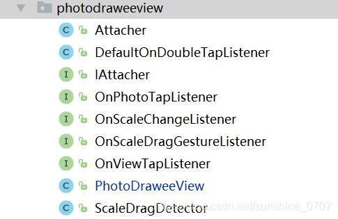 Android开发Fresco使用PhotoDraweeView 实现图片的手势缩放