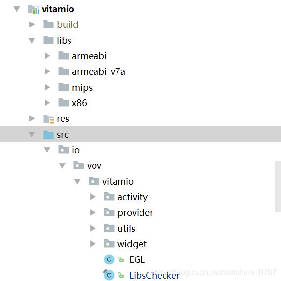 Android studio使用vitamio