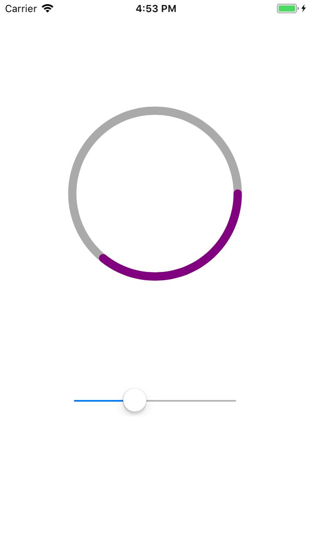 iOS开发圆环精度