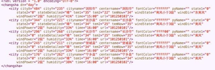 IOS<wbr>XML数据的解析